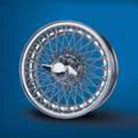 "Wire Chrome Wheel 15"" - 042-050-0111"