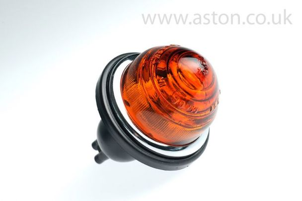 Front Flasher Lamp Assembly, Amber
