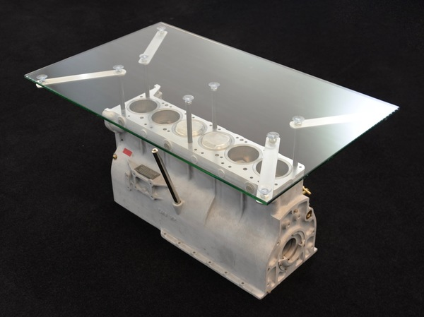 Aston Martin Enthusiast DB5/DB6 Rare Engine Block Coffee Table - AWEBCT