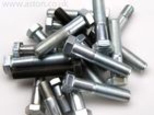 SCREW 1/4 UNF x 3/8  C/S POZI             STEEL ZINC PLATED