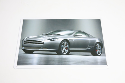 ASTON MARTIN DB9 TIN PLATE SIGN - AWSIGN3