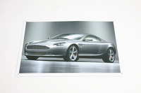 ASTON MARTIN DB9 TIN PLATE SIGN