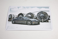 ASTON MARTIN DBS TIN PLATE SIGN