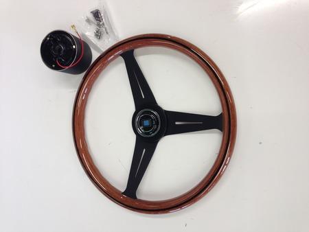 V8 Steering Wheel Assembly - 25-26078