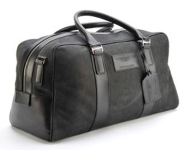Aston Martin Leather Holdall - Large