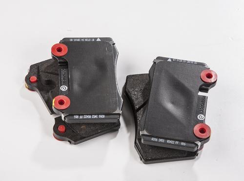 Rear Brake Pad Set for DB9 + V8 Vantage - 7G43-2C562-AA