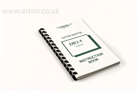 Owners Handbook DB2/4 MKIII - 52599