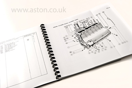 Parts Catalogue DB2 & DB2/4 - 54954