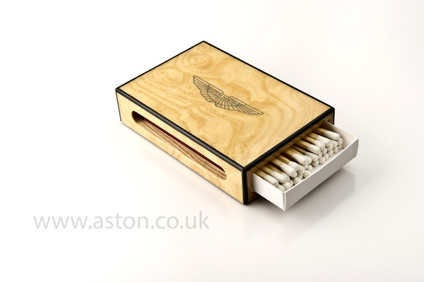 Aston Martin Matchbox & Ashtray Holder