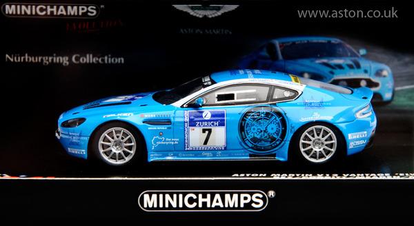 """Aston Martin V12 RESIN MODEL """"ELWOOD"""""""