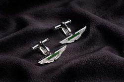Aston Martin Silver Wing Cufflinks - AH1002