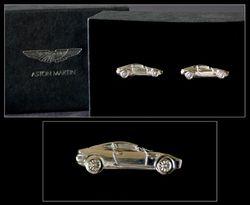 Silver DB9 Cufflinks - AH1024