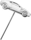 Silver DB9 Tie Pin