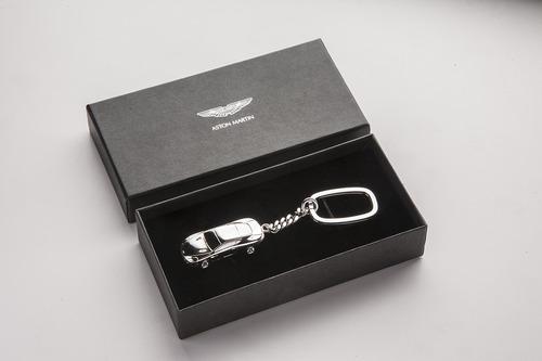 Sterling Silver DB9 Keyring - AH1027
