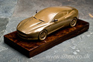Aston Martin Cold Cast Bronze DB9 Model