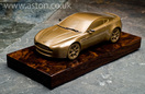 Aston Martin Cold Cast Bronze AMV8 Vantage