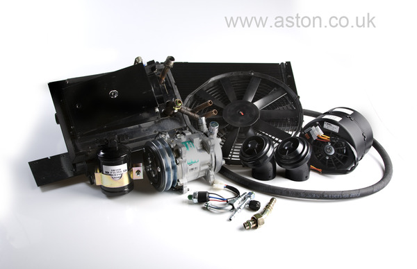 Integrated in Dash Heating and Air Conditioning Kit