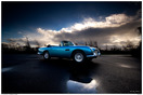 Aston Martin DB5 Print - Tim Wallace