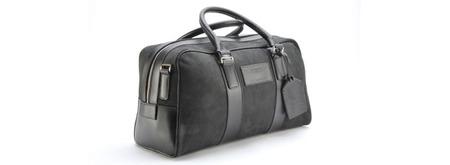 Aston Martin Leather Holdall - Medium - 702037