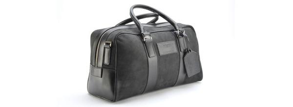 Aston Martin Leather Holdall - Medium