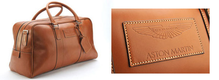 Aston Martin Saddle Leather Holdall - Large - 702580