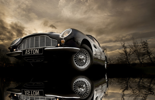 Aston Martin DB6 Print - Tim Wallace