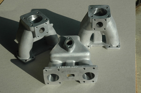 Aston Martin Triple S.U Inlet Manifolds. DB4/5/6 - S>UX3