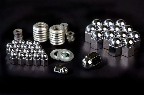 Chrome Head Nuts Kit - AWKNUTS1