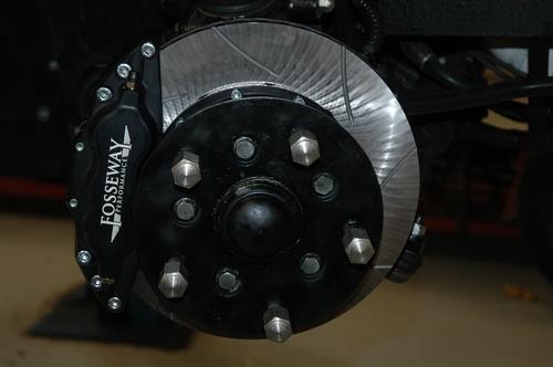 DBSV8/V8  6 POT BRAKE UPGRADE KIT - AWV8BRUK-1