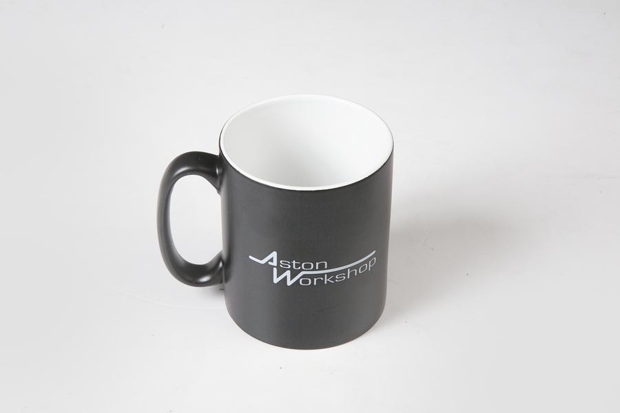 ASTON WORKSHOP MUG - BLACK
