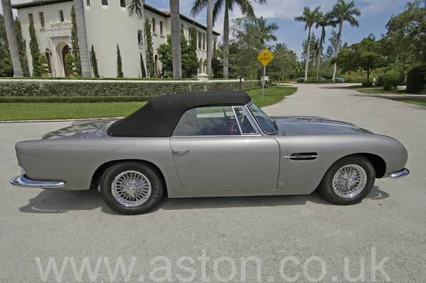 DB5 Volante Car Cover
