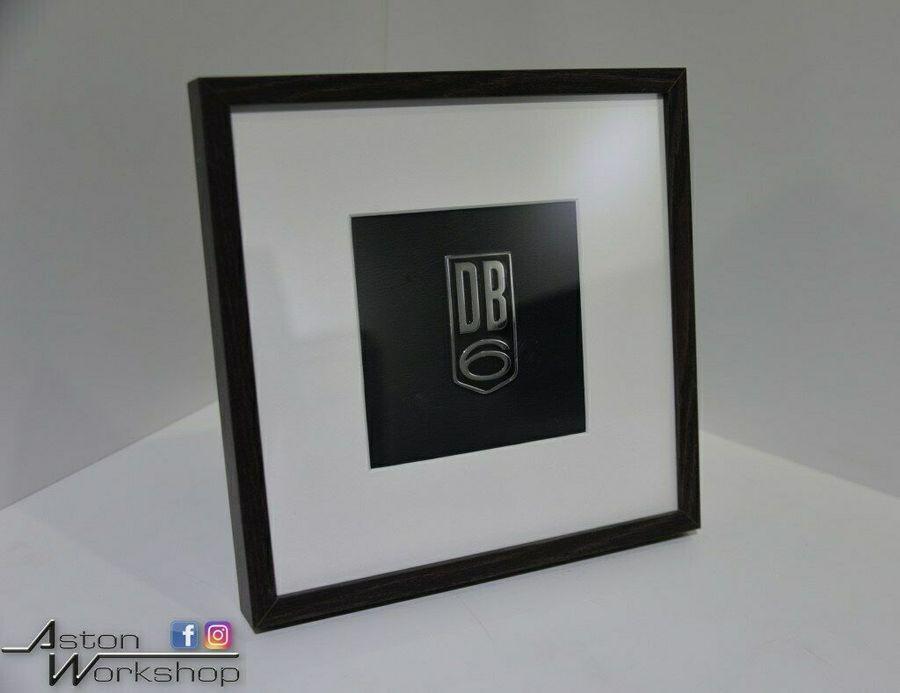Framed DB6 Badge