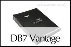 PARTS CATALOGUE-     DB7 VANTAGE - 43-85310