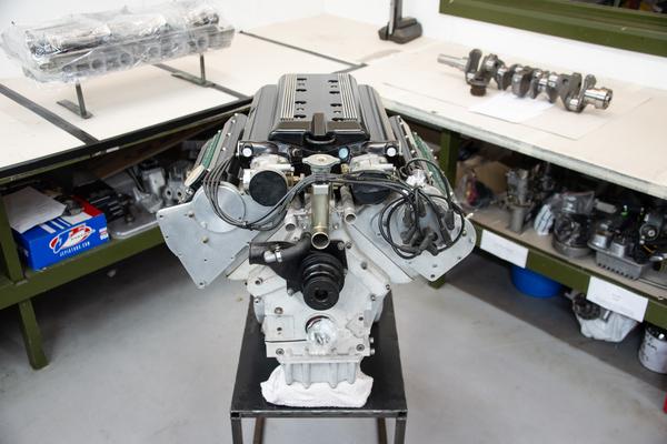 Aston Martin Engine For Sale Classic  V8.  Vantage 550 / Coupe / Virage. Engine Re built. - AWV8ENGINE7.3