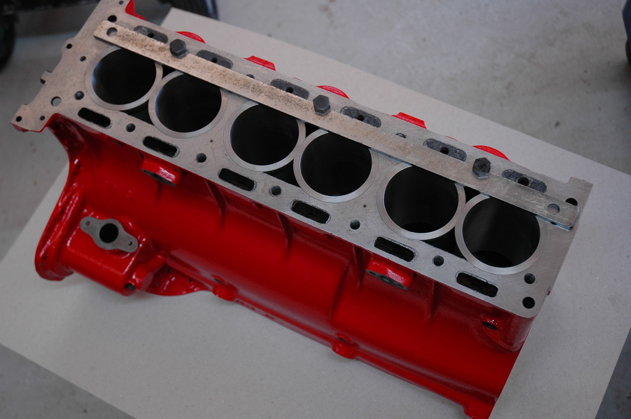 DB2 2.6L Cylinder Block Assembly