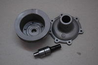 DB2/4 MKIII Water Pump Body & Pulley
