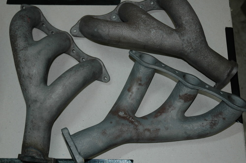 Original Cast Exhaust Manifolds. DB4/5/6 & S6 - PROD18316