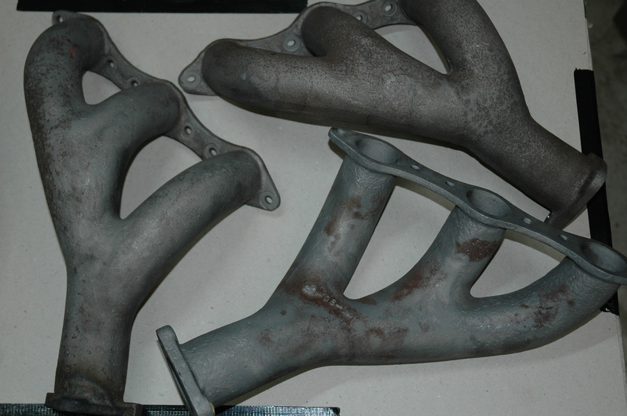Original Cast Exhaust Manifolds. DB4/5/6 & S6