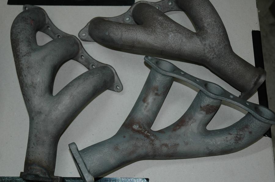 Original Cast Exhaust Manifolds. DB4/5/6 & S6