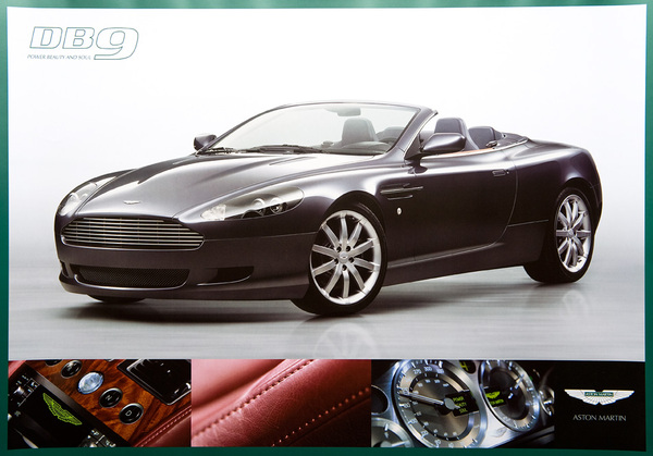 Aston Martin DB9 Poster