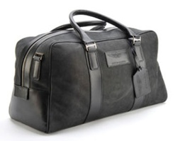 Large Leather Holdall - 702036