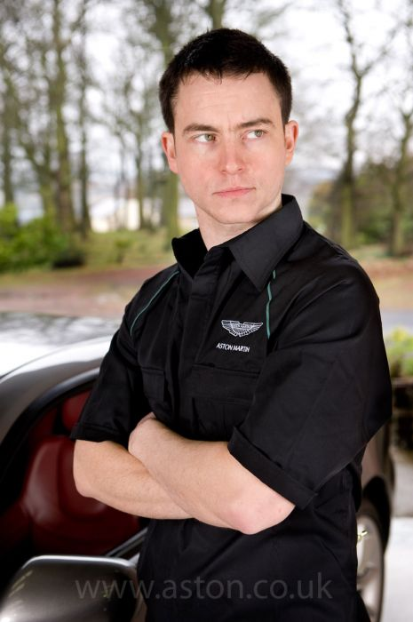 Aston Martin Workwear Shirt