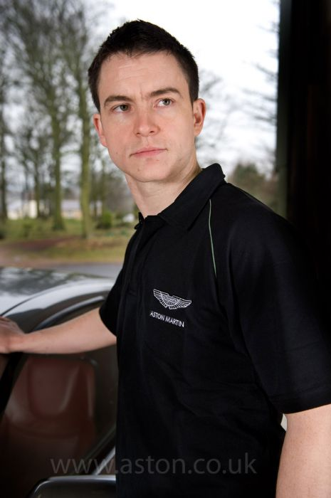 Aston Martin Workwear Polo Shirt