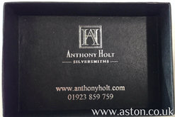 Aston Martin Rhodium Plated DB9 Cufflinks - AH1024R