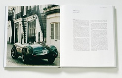 The Aston Martin DB3S Sportscar - Leather-bound Edition - AWB007