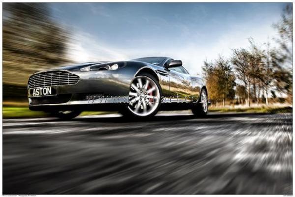 Aston Martin DB9 Print - Tim Wallace
