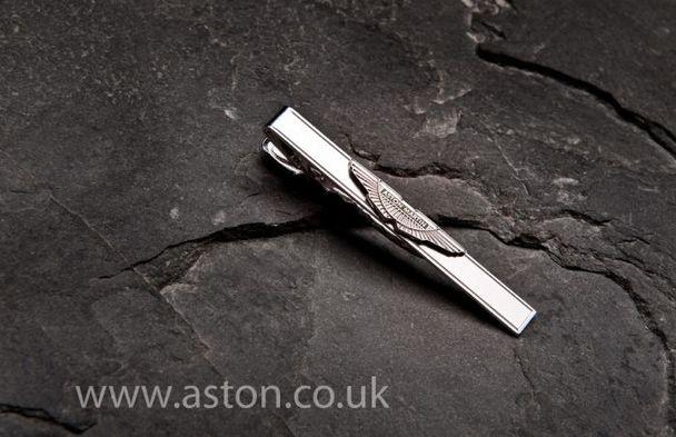 Aston Martin Sterling Silver Tie Slide