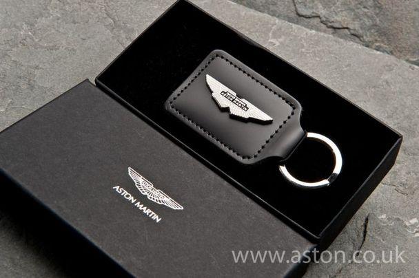 Aston Martin Rhodium Plated DB Wing Keyring