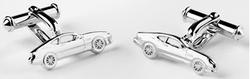 Aston Martin Silver DB7 Cufflinks - AH1035