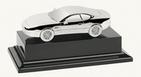 Aston Martin Silver DB7 Vantage Coupe Model